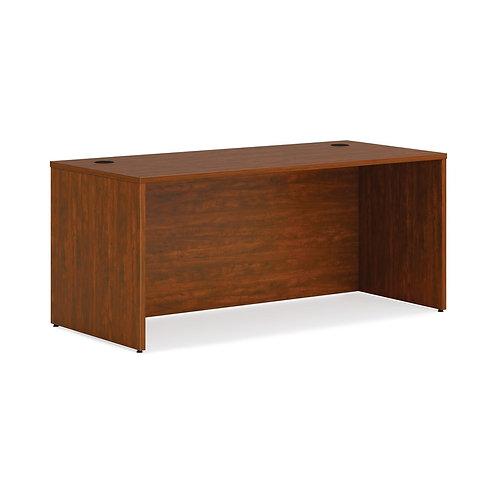 "HON Mod Desk Shell | 66""W | Russet Cherry Finish"