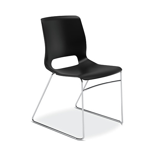 HON Motivate High-Density Stacking Chair | Onyx Shell | 4 per Carton