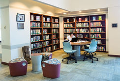 library shelving, scooch, higher ed furniture
