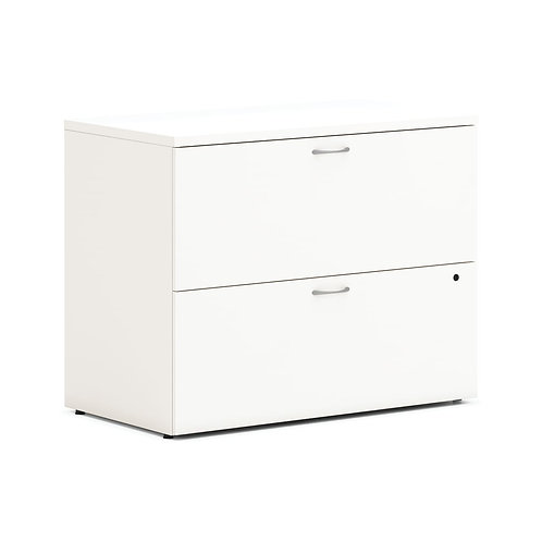 """HON Mod Lateral File   2 Drawers   Removable Top   36""""W"""