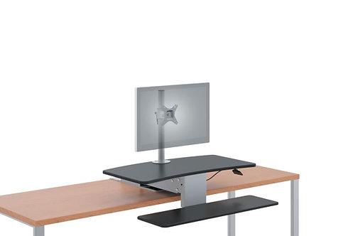 HON Coordinate Mounted Desktop Riser | Single Monitor Arm
