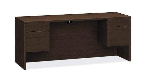 "HON 10500 Series Credenza with Kneespace | 2 Box / 2 File Drawers | 72""W"