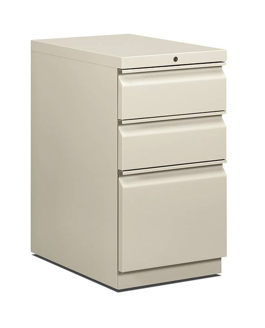 HON Brigade Pedestal | Standard Height | Mobile | 2 Box / 1 File Drawer