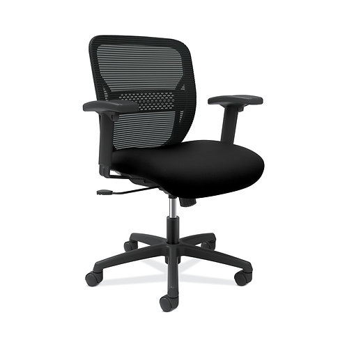 HON Gateway Task Chair | Mid-Back | Swivel-Tilt | Height-Adjustable Arms