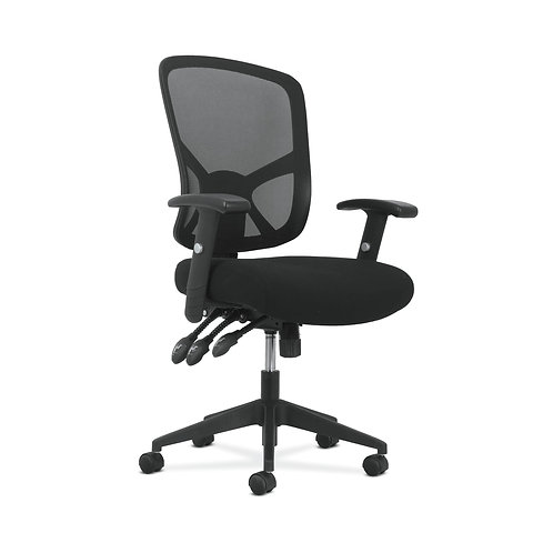 Sadie High-Back Task Chair | Height Adjustable Arms | Height Adjustable Back