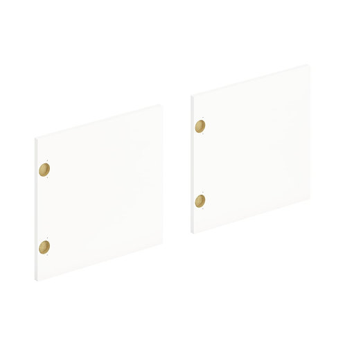 "HON Mod Laminate Doors | Set of 3 | 48""W | Simply White Finish"