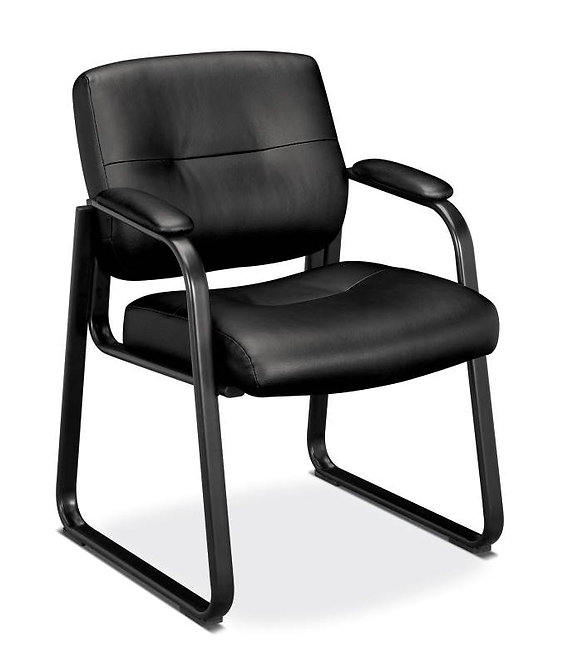 HON Client Sled Base Guest Chair | Fixed Arms