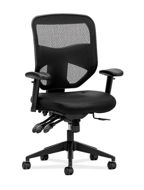 HON Prominent Mesh High-Back Task Chair | Asynchronous Control, Seat Glide