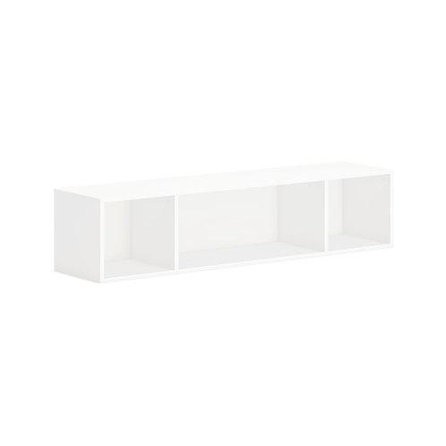 "HON Mod Wall Mounted Storage | Open | 60""W | Simply White Finish"