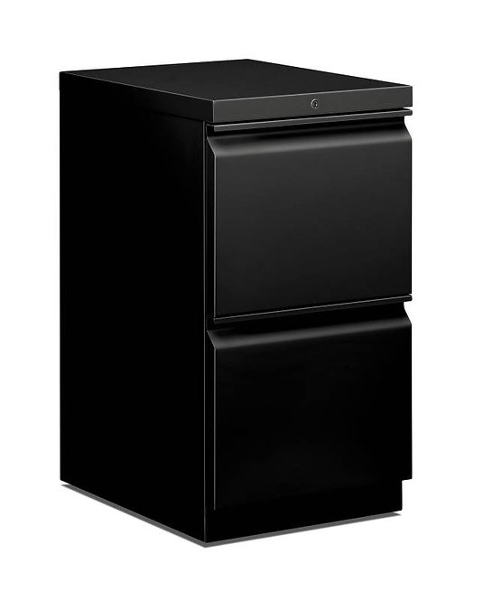 "HON Mobile Pedestal | 2 File Drawers | 15""W"