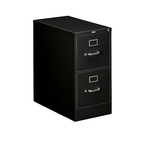 """HON 310 Series Vertical File   2 Drawers   Letter Width   15""""W x 26-1/2""""D"""