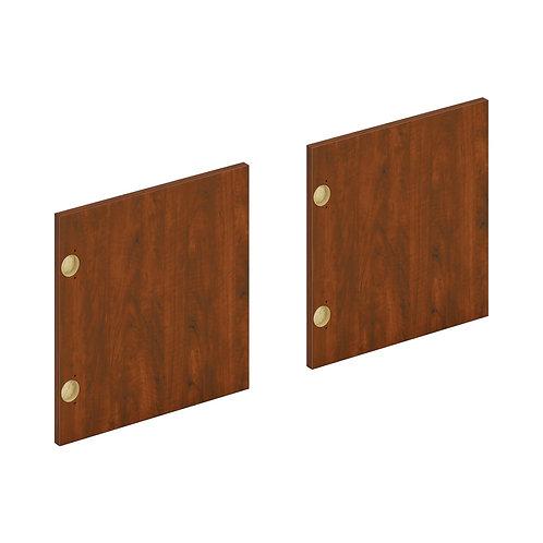 "HON Mod Laminate Doors   Set of 2   60""W   Russet Cherry Finish"