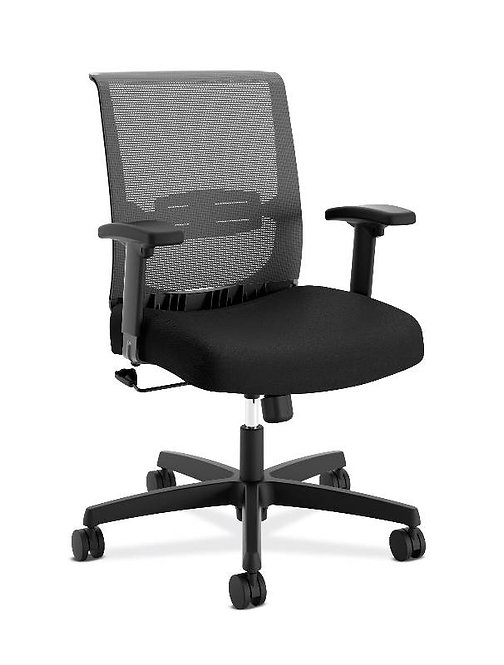 HON Convergence Task Chair | Swivel Tilt Control | Height-Adjustable Arms
