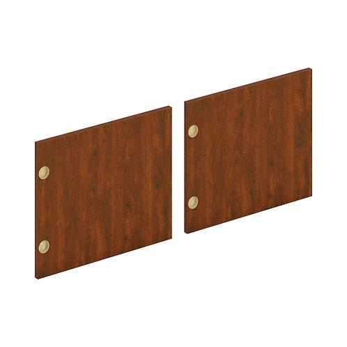 "HON Mod Laminate Doors | Set of 2 | 72""W | Russet Cherry Finish"