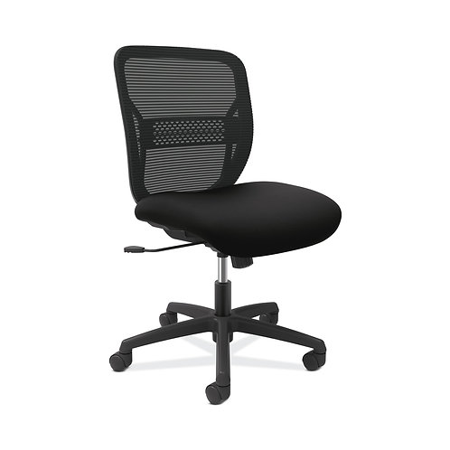 HON Gateway Task Chair | Mid-Back | Swivel-Tilt | Black Fabric and Mesh