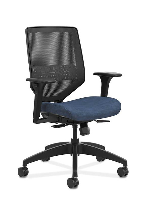 HON Solve Mid Back Task Chair   Mesh Back