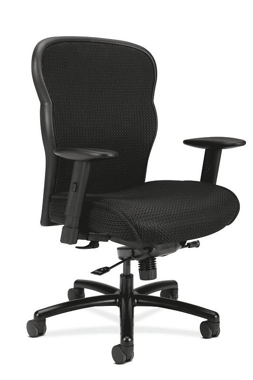 HON Wave Mesh Big and Tall Executive Chair | Knee-Tilt | Adjustable Arms