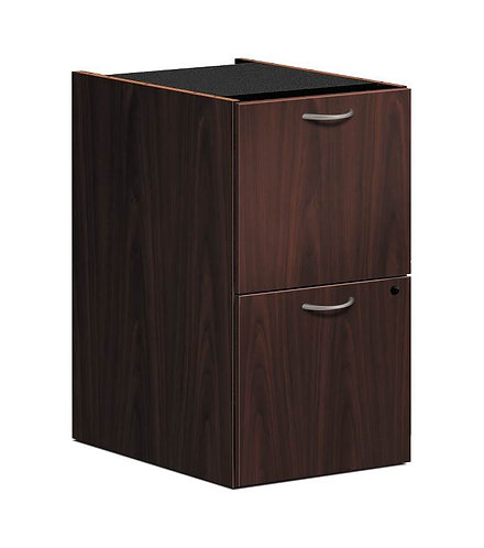 "HON Foundation Pedestal File | 2 File Drawers | 15-5/8""W"