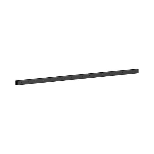 """HON Mod External Stiffener   For 66"""" Worksurfaces   Graphite Finish"""