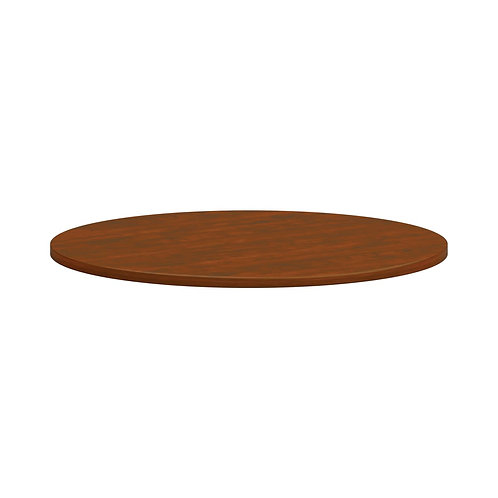 """HON Mod Conference Table Top   Round   42""""   Russet Cherry Finish"""