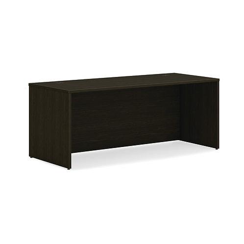 "HON Mod Desk Shell | 72""W | Java Oak Finish"