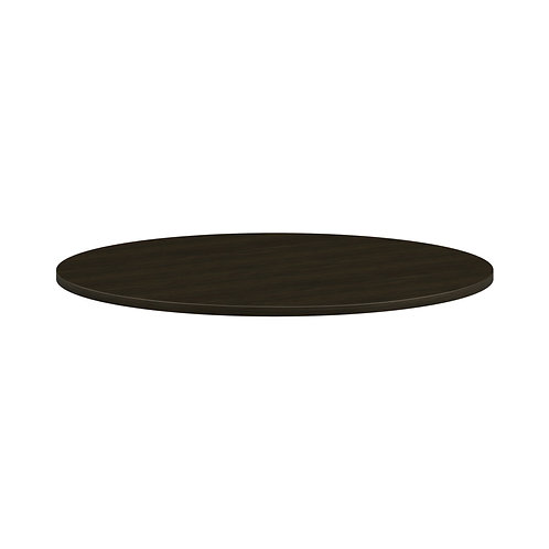 """HON Mod Conference Table Top   Round   48""""   Java Oak Finish"""