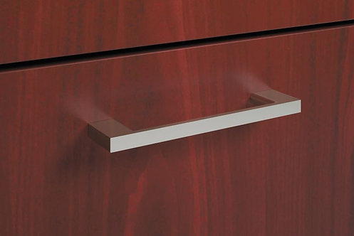 HON Foundation Field Installed Pull | Bridge | Polished | 2-Pack