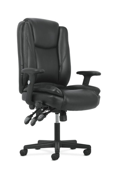 Sadie High-Back Task Chair | Height-Adjustable Arms | Height-Adjustable Back