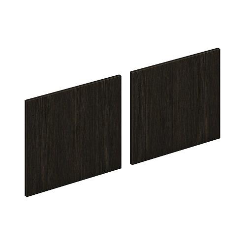 "HON Mod Laminate Doors | Set of 2 | 72""W | Java Oak Finish"
