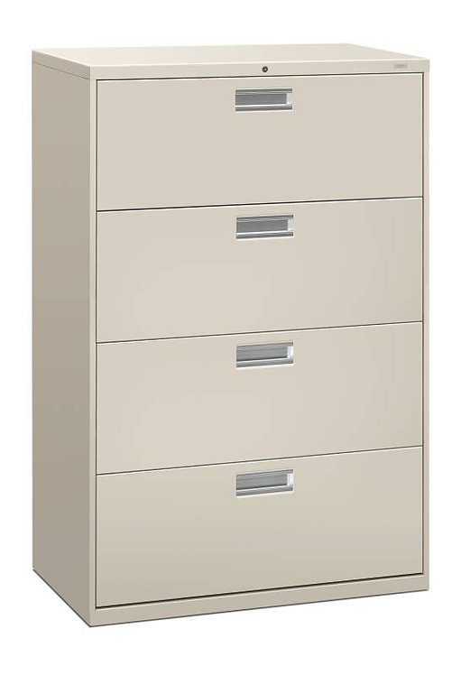 "HON Brigade 600 Series Lateral File | 4 Drawers | 36""W x 18""D"