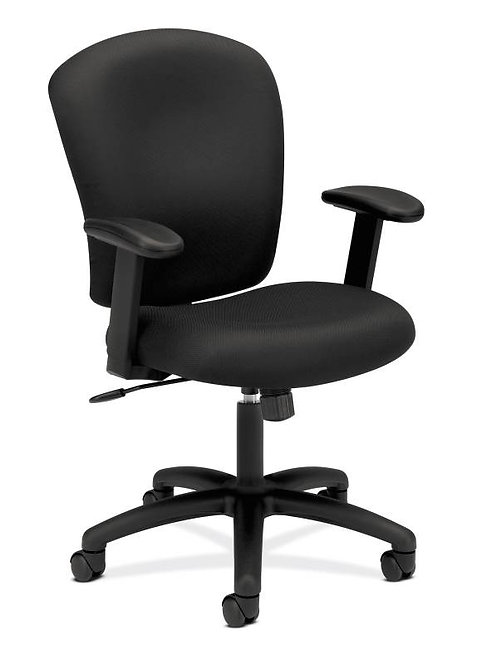 HON Mid-Back Task Chair | Center-Tilt | Adjustable Arms