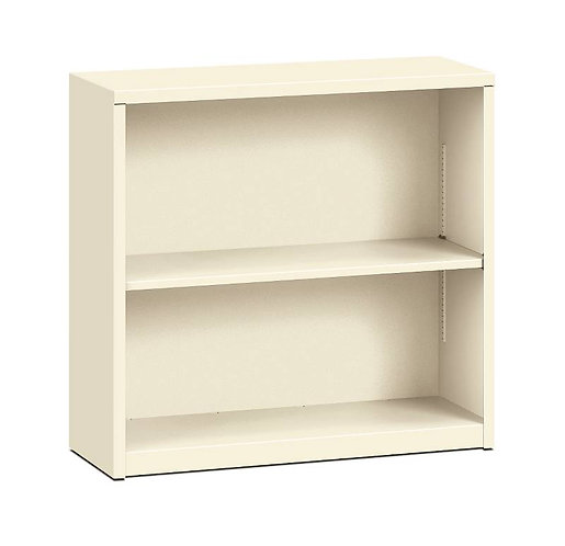 "HON Brigade Steel Bookcase | 2 Shelves | 34 1/2""W x 12 5/8""D"