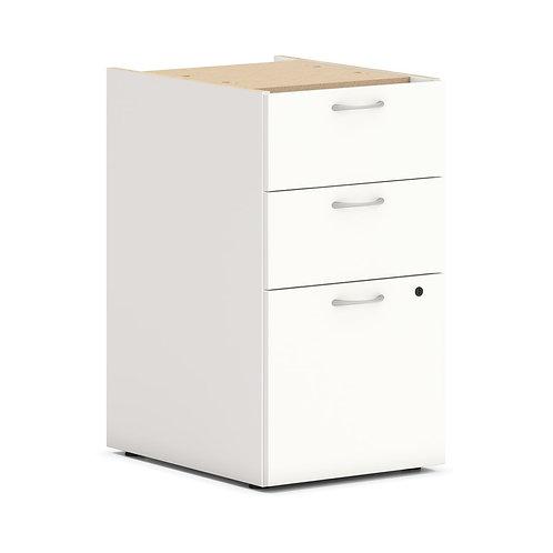 "HON Mod Support Pedestal   2 Box / 1 File Drawer   15""W"