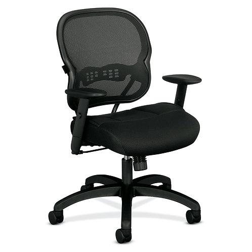HON Wave Mesh Mid-Back Chair | Synchro-Tilt | Adjustable Arms