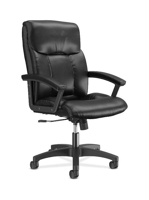 HON High-Back Executive Chair | Center-Tilt | Fixed Arms