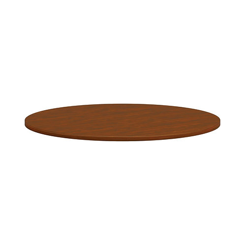 """HON Mod Conference Table Top   Round   48""""   Russet Cherry Finish"""