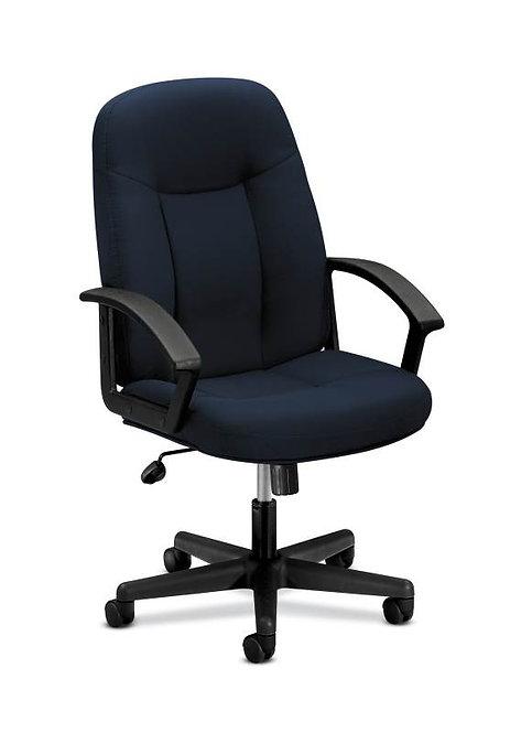 HON High-Back Executive Chair | Center-Tilt | Fixed Arms
