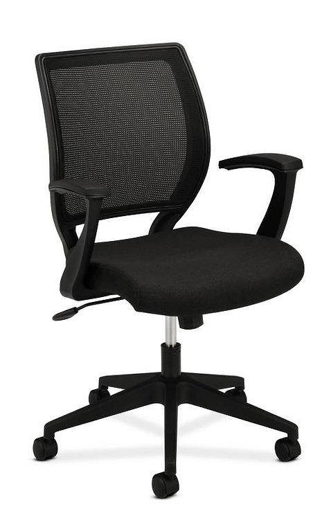 HON Mesh Mid-Back Task Chair | Center-Tilt | Fixed Arms