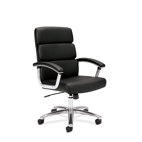 HON Traction High-Back Executive Chair   Center-Tilt   Fixed Arms
