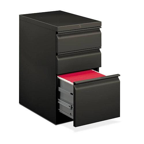 HON Brigade Pedestal | Standard Height | Mobile | 2 Box / 1 File Drawer
