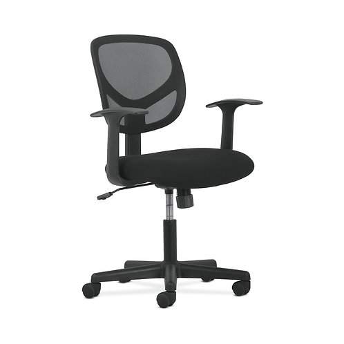 Sadie Mid-Back Task Chair   Fixed Arms