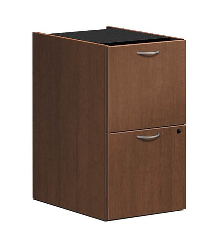 "HON Foundation Pedestal File | 2 File Drawers | 15-5/8""W"