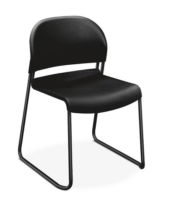 HON GuestStacker Stacking Chair | Textured Seat and Back