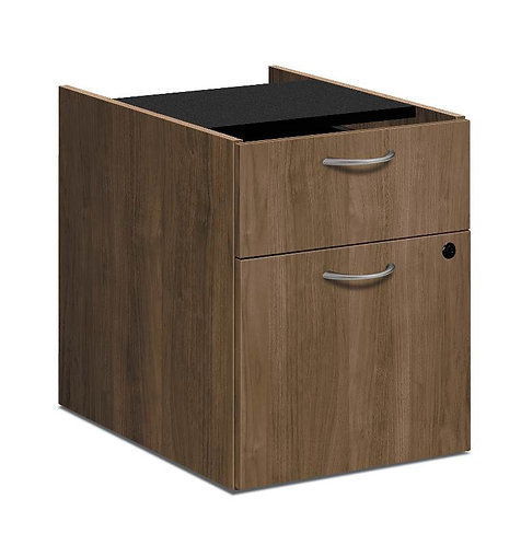 "HON Foundation Pedestal File | 1 Box / 1 File Drawer | 15-5/8""W"