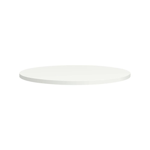 "HON Between Table Top   Round   36""D   Designer White Laminate"