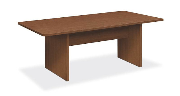 "HON Foundation Conference Table | Rectangle | Panel Base | 72""W"