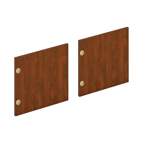 "HON Mod Laminate Doors | Set of 2 | 66""W | Russet Cherry Finish"