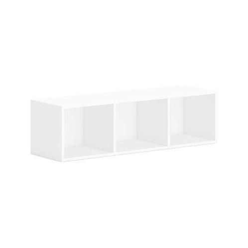"HON Mod Wall Mounted Storage   Open   48""W   Simply White Finish"