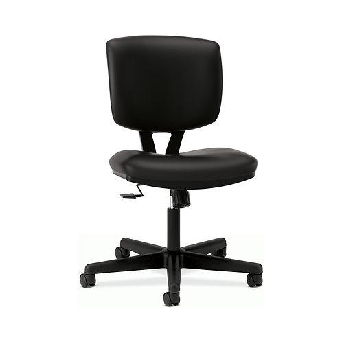 HON Volt Task Chair | Synchro-Tilt | Black SofThread Leather