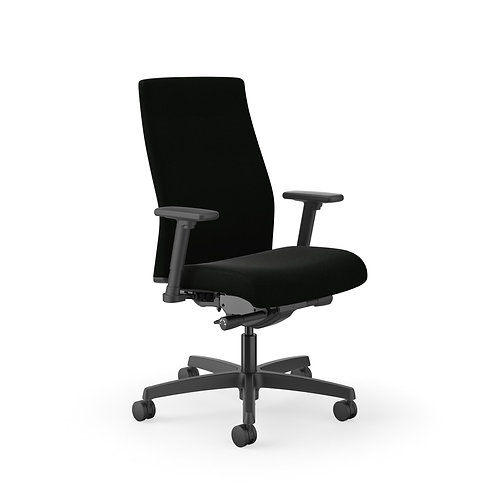 HON Ignition Mid-Back Task Chair   Easy Assembly   Advanced Synchro-Tilt Control
